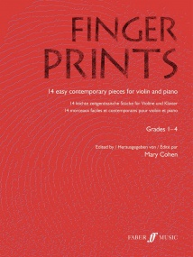 Fingerprints for Violin published by Faber