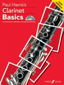 Clarinet Basics - Pupil Book & CD published by Faber