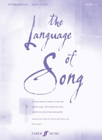 The Language of Song Intermediate (High Voice) published by Faber