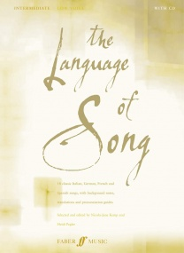 The Language of Song Intermediate (Low voice) published by Faber