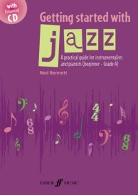 Getting Started With Jazz for Instrumentalists &  Piano Players published by Faber