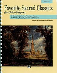 Favourite Sacred Classics for Medium High Voice published by Alfred