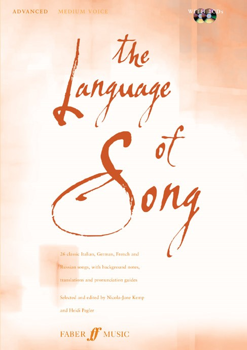 The Language of Song Advanced (Medium voice) published by Faber