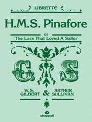 HMS Pinafore - Libretto Only published by Faber