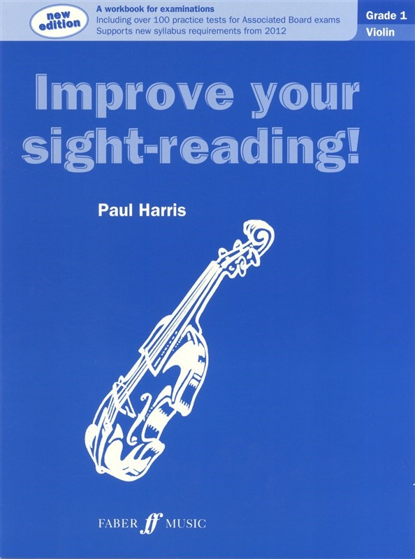 Improve Your Sight Reading Grade 1 Violin published by Faber