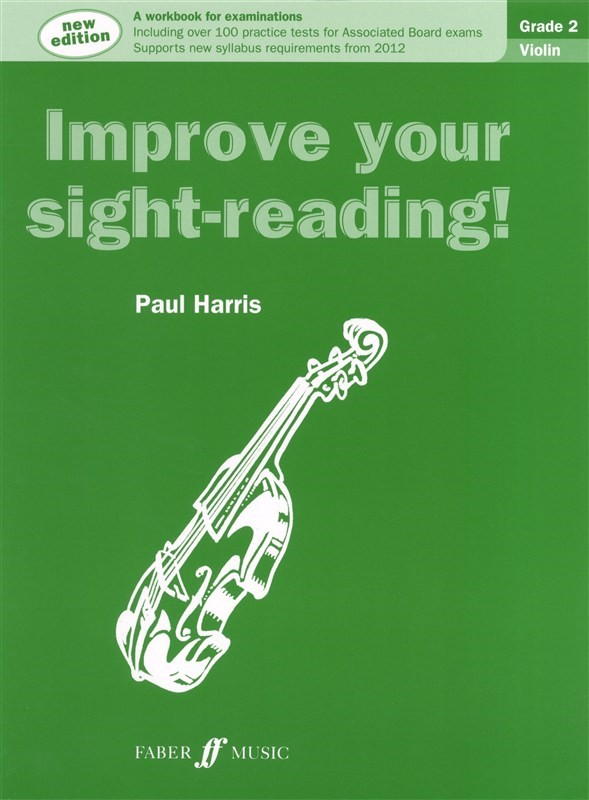 Improve Your Sight Reading Grade 2 Violin published by Faber