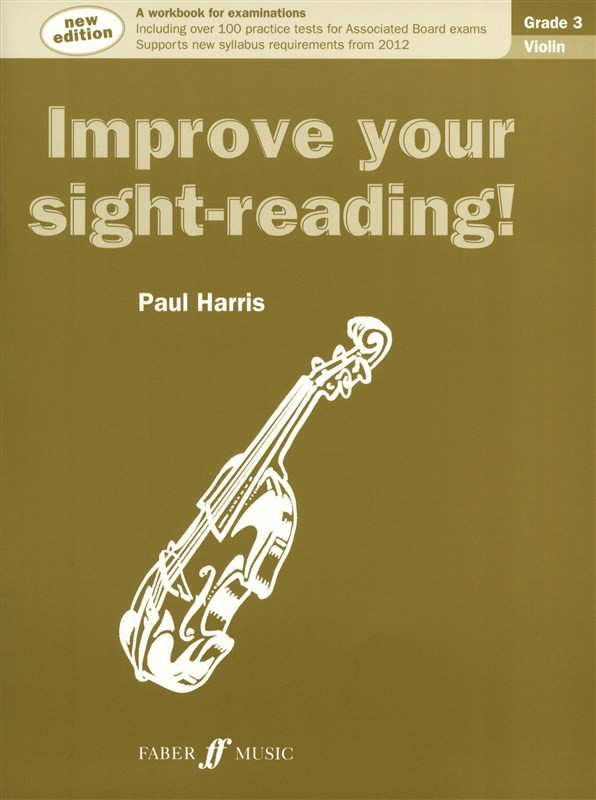 Improve Your Sight Reading Grade 3 Violin published by Faber