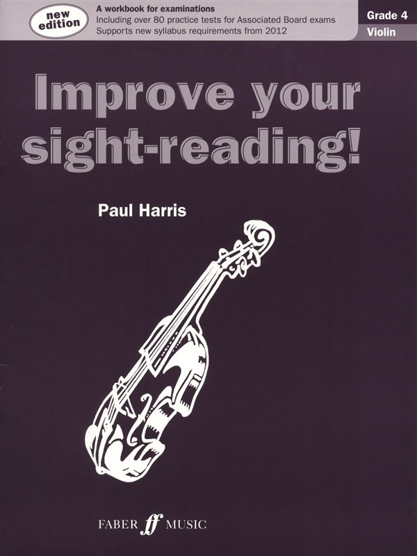 Improve Your Sight Reading Grade 4 Violin published by Faber