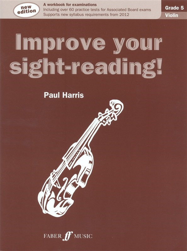 Improve Your Sight Reading Grade 5 Violin published by Faber