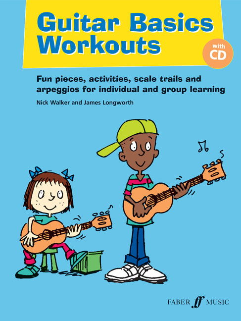 Guitar Basics Workouts Book & CD published by Faber