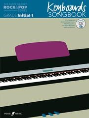 The Faber Graded Rock & Pop Series Keyboards Songbook Initial - Grade 1