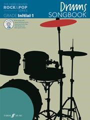 The Faber Graded Rock & Pop Series Drums Songbook Initial - Grade 1
