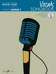 The Faber Graded Rock & Pop Series Vocals Songbook Initial - Grade 1