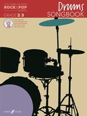 The Faber Graded Rock & Pop Series Drums Songbook Grade 2 - 3
