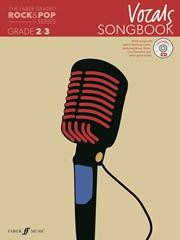 The Faber Graded Rock & Pop Series Vocals Songbook Grade 2 - 3