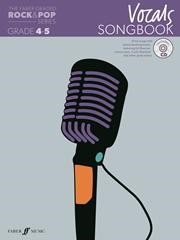 The Faber Graded Rock & Pop Series Vocals Songbook Grade 4 - 5