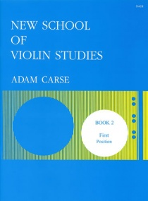 Carse: New School of Violin Studies Book 2 (First Position) published by Stainer & Bell