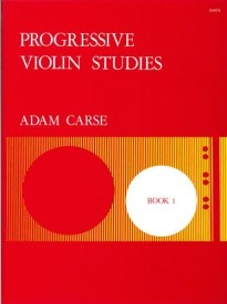 Carse: Progressive Violin Studies Book 1 published by Stainer and Bell