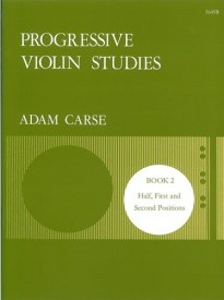 Carse: Progressive Violin Studies Book 2 published by Stainer and Bell