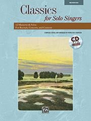 Classics for Solo Singers Medium/High Book & CD published by Alfred