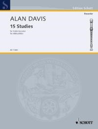 Davis: 15 Studies for Treble Recorder published by Schott
