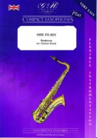 Compact Saxophones : Ode To Joy for Saxophone Ensemble published by G & M