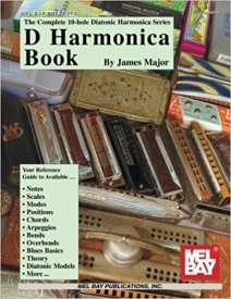 Complete 10- Hole Diatonic Harmonica Series: ''D'' Harmonica Book published by Mel Bay
