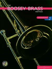 Boosey Brass Method 2 Book & CD for Trombone (Bass Clef)