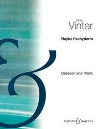 The Playful Pachyderm for Bassoon by Vinter published by Boosey & Hawkes