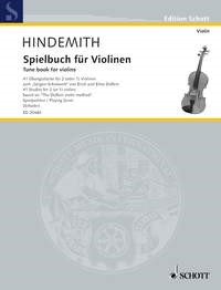 Hindemith: Tune Book for Violins published by Schott