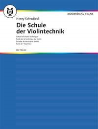 Schradieck: School Of Violin Technique Book 2 published by Cranz