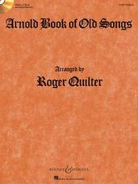 Arnold Book Of Old Songs - Low Voice - Book & CD published by Boosey & Hawkes