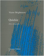 Brightmore: Quickie for Oboe published by Emerson