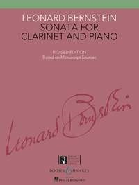 Bernstein: Sonata for Clarinet published by Boosey & Hawkes