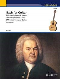 Bach for Guitar published by Schott