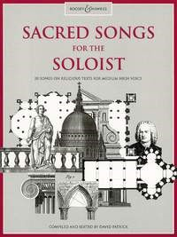 Sacred Songs For The Soloist (Medium High) published by Boosey & Hawkes