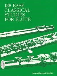 125 Easy Classical Studies by Vester for Flute published by Universal Edition