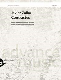 Zalba: Contrastes for Saxophone published by Advance