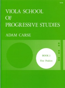 Carse: Viola School of Progressive Studies 2 published by Stainer & Bell