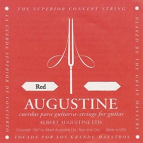Augustine Red Label Classical Guitar Strings (Complete Set)