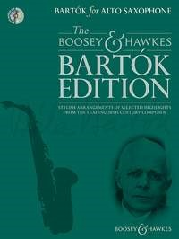 Bartok for Alto Saxophone Book & CD published by Boosey & Hawkes