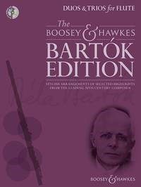 Bartok: Duos & Trios for Flute Book & CD published by Boosey & Hawkes