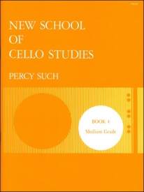 Such: New School of Cello Studies Book 4 published by Stainer and Bell