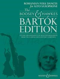 Bartok: Romanian Folk Dances for Alto Saxophone published by Boosey & Hawkes