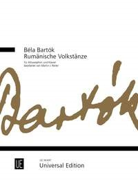 Bartok: Romanian Folk Dances for Alto Saxophone published by Universal