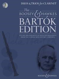 Bartok: Duos & Trios for Clarinet published by Boosey & Hawkes