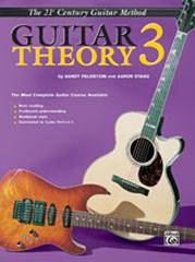 21st Century Guitar Theory Book 3 published by Alfred