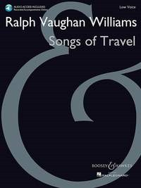 Songs of Travel for Low Voice by Vaughan Williams Book & Online Audio published by Boosey & Hawkes