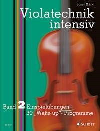 Markl: Violatechnik intensiv Vol. 2 published by Schott
