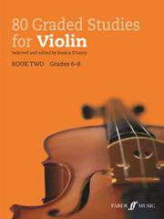 80 Graded Studies for Violin Book 2 published by Faber